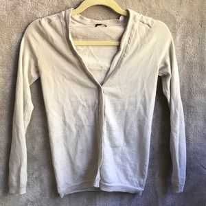 J crew light weight cardigan